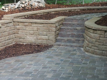 Landscaping Ideas, Landscape Design, Retaining Walls, Garden Water